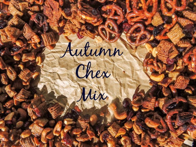 autumn chex mix